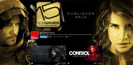 「デススト」や「CONTROL」が大幅値引き! Steamにて505 Gamesの15周年記念セールが開始