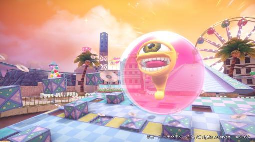 """『たべごろ!スーパーモンキーボール 1&2リメイク』DLCで『モンスターファーム』から""""スエゾー""""が参加決定。バナナがCDに変わる特別仕様"""