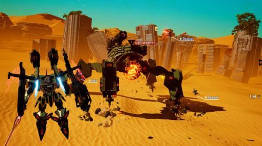 """次回""""いっせいトライアル""""はハイスピードメカACT『DAEMON X MACHINA』!自分好みの機体で戦場を駆け巡る"""