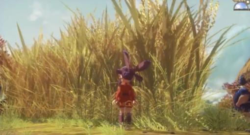 豊作…にも程がある!『天穂のサクナヒメ』に出現した、嘘みたいに巨大な稲がインパクト抜群