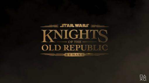 「Star Wars: Knights of the Old Republic Remake」が発表。スター・ウォーズの名作RPGがリメイク