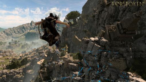 PC/PS5向け新作ARPG『FORSPOKEN』舞台となる異世界「アーシア」や魔法を使ったパルクールなどの情報が公開