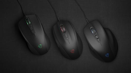 eスポーツ向けを謳うMionix製マウス「NAOS Pro」「CASTOR Pro」「AVIOR Pro」が国内発売