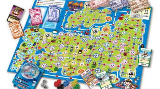 『桃太郎電鉄』最新作がボードゲームに。貧乏神やスリの銀次もバッチリ登場…!