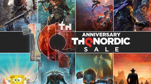 """THQ Nordicが9月18日午前4時から公式デジタルショーケースを開催。新作6タイトルの発表などを予定。Microsoft Storeでは""""THQ Nordic 10周年記念セール""""が開催中。"""