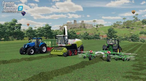 リアルな農業が体験できる『ファーミングシミュレーター 22』がクロスプラットフォームプレイに対応。機種の違いを気にせずフレンドと一緒に農作業
