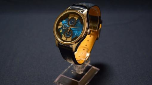 『ゴッドイーター』から、ネイビー×マスタードカラーがクールに映える「ソーマ」モデルの腕時計をつけて、世間のアラガミに対抗しよう!