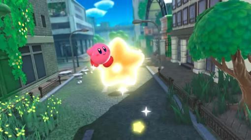 Nintendo Switch『星のカービィ ディスカバリー』発表、2022年春に発売へ。荒廃した都市をカービィが3Dで探索