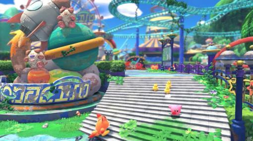 """Switch「星のカービィ ディスカバリー」が2022年春に発売!文明と自然の融合した""""新世界""""が舞台となるシリーズ初の3Dアクション"""
