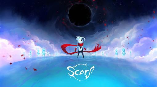 プラットフォームアクション「SCARF」の最新トレイラー公開。頼りない主人公が,スカーフのようなドラゴンと一緒に成長する物語