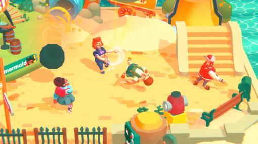 『Push Your Family』Steamにて早期アクセス配信開始。ちょっと変わった家族による物理演算パーティゲーム