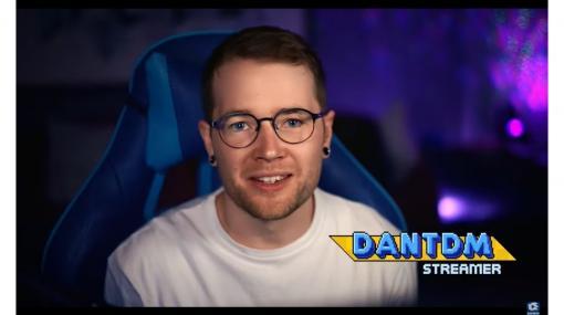 """ソニック30周年の歴史を振り返る映像""""SonicRings""""第8弾が公開。YouTubeチャンネル登録者数2500万人を超える人気配信者""""DanTDM""""氏が登場"""