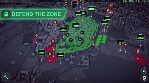 僕の街も君の街も瞬く間にゾンビまみれ!実際の地理データを使用するゾンビサバイバル街づくり『Infection Free Zone』Kickstarter開始!