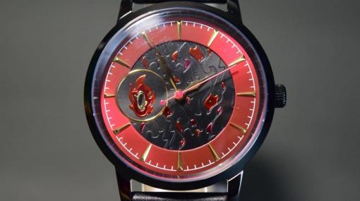 うむ!いい腕時計だ!『鬼滅の刃』から、熱くエネルギッシュなデザインの「煉獄杏寿郎」モデル腕時計で心を燃やせ!