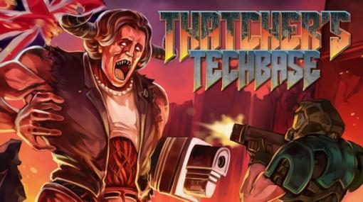 サッチャー英国元首相が地獄から蘇る!?『DOOM II』大型Mod「Thatcher's Techbase」公開