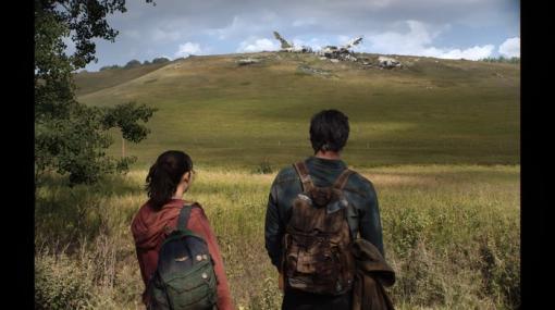 実写ドラマ版『ラストオブアス』ジョエルとエリーの後ろ姿のビジュアルがお披露目