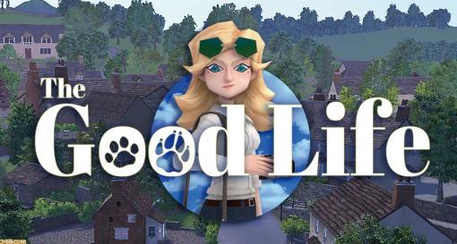 SWERY氏による借金返済RPG『The Good Life』が10月15日配信決定。幸福な田舎町でのスローライフを満喫しながら殺人事件の謎に迫る