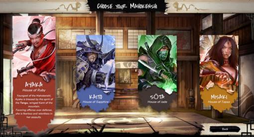 サムライ魔法剣士カードデッキADV『Mahokenshi』Steam Next Festでプレイアブルデモ公開