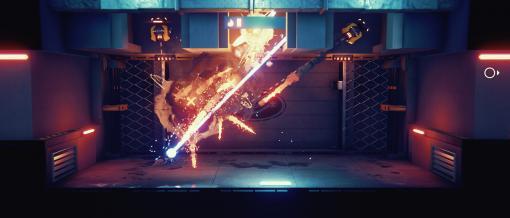 [TGS 2021]「Soda Crisis」がTGS 2021に出展。ハイテク機器と高い戦闘能力を備えた謎の人物が戦う横スクロールアクションSTG