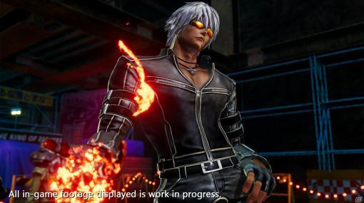 「THE KING OF FIGHTERS XV」K'のキャラクタートレーラーが公開!草薙京の遺伝子を移植された改造人間