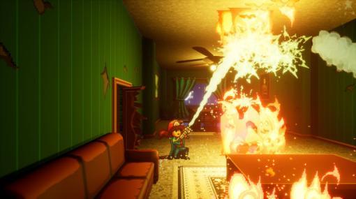 少女よ、街を襲う火災から人々を救い出せ!レスキューACT『Firegirl: Hack 'n Splash Rescue』PC/コンソール向けに12月14日リリース