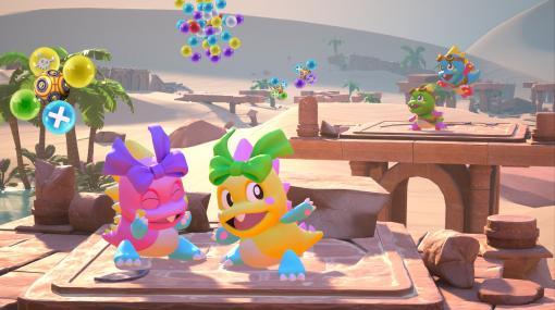 「パズルボブル」が3Dに! PS5/PS4/PS VR「パズルボブル3D バケーション・オデッセイ」本日発売VRでもテレビモニターでも3Dになったアクションパズルが楽しめる