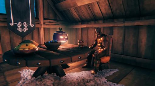 オープンワールド北欧神話サバイバル『Valheim』ゲームバランスを調整するパッチ0.203.10が配信。カブのランタンで遊ぶヴァイキングの姿も