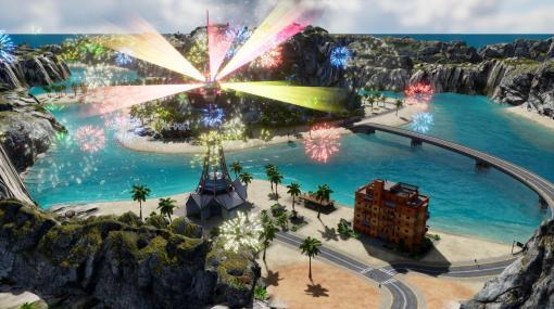 独裁国家運営シミュ『トロピコ6』PS4版に新DLCが配信開始。ドローンで島民を監視し、ナイトパーティーで出生率アップ
