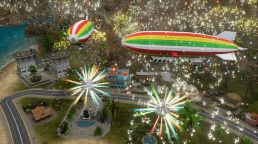 独裁国家シム『トロピコ6』国内PS4向けに2種の新DLC配信!カリブの空でさらなる高みへ