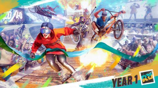 多人数エクストリームスポーツ『ライダーズリパブリック』発売後のコンテンツロードマップ公開!新競技「BMX」の情報も