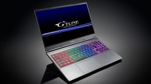 マウス、リフレッシュレート165Hz対応の15.6型ゲーミングノートPC発売