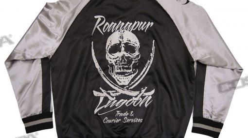 『ブラック・ラグーン』ラグーン商会をイメージした刺繍スカジャンや、広江礼威先生描き下ろしイラストを使用したTシャツ、トートバッグなどが登場