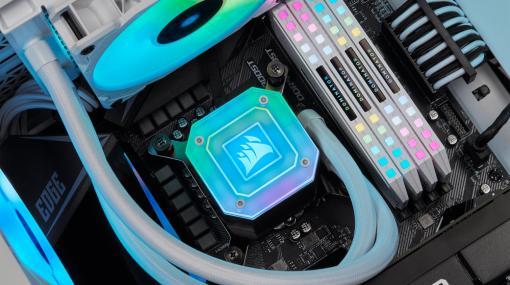 Corsair,既存液冷CPUクーラーをIntelの次世代CPU「Alder Lake」に対応させるマウントキットを発表