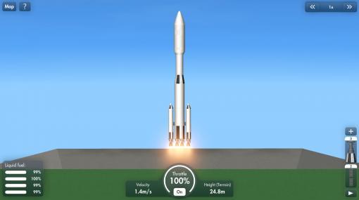人気宇宙ロケット打ち上げシム『Spaceflight Simulator』Steam版発表。数多のパーツを組み合わせて太陽系を制覇しよう