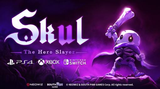 「スカール(Skul: The Hero Slayer)」のコンシューマ機版が10月21日リリースへ。ちびっこスケルトンが戦う2Dアクション