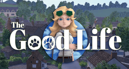 ヒトからイヌ、ネコに変身して奇妙な田舎町の謎を解き明かすスローライフミステリ『The Good Life』本日リリース。料理や園芸など日々の暮らしを楽しめるアクティビティも