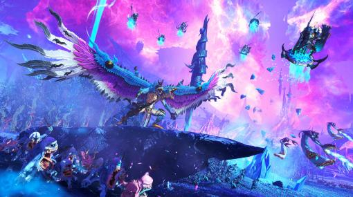 「Total War: WARHAMMER III」,混沌の神Tzeentchの勢力を紹介する最新トレイラー公開