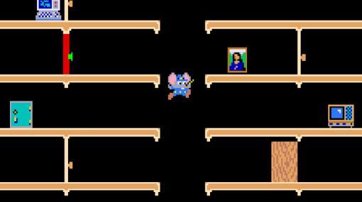 「マッピー」(1983年)がアーケードアーカイブスに登場。SwitchとPS4に向けて10月21日より配信へ