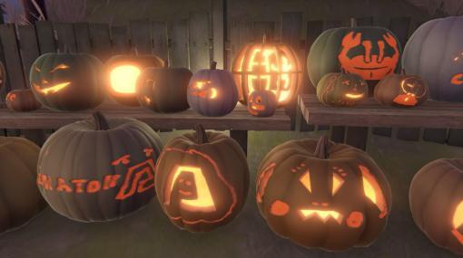 マルチプレイかぼちゃ祭りゲーム『Pumpkin Festival』無料配信中。かぼちゃのデザイン見せ合うバーチャル展覧会