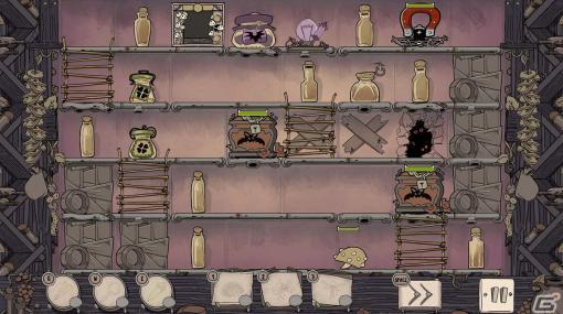 パズルとタワーディフェンス要素が楽しめるストラテジーゲーム「JARS」がSwitch/Steam向けに配信開始!地下室の謎を解き明かそう
