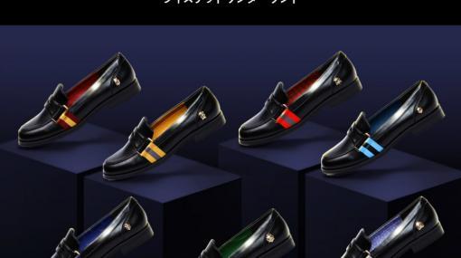 「ツイステ」をテーマにしたローファーとスリッポンがABC-MARTで本日発売。オンラインストア限定を含む8色を展開