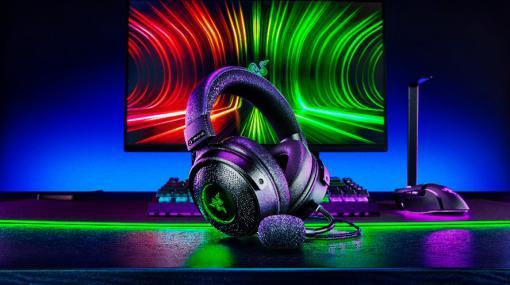 Razer,新型ヘッドセット「Kraken V3」シリーズを国内発売。上位モデルは触覚フィードバック機能を搭載