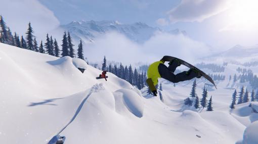 次世代スノボゲーム『Shredders』2022年2月に発売へ。雪景色とともにカジュアルに延期をお知らせ