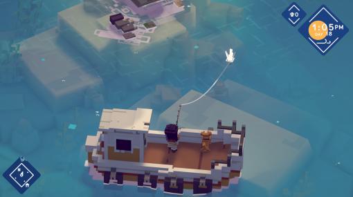 フィッシングRPG「Moonglow Bay」が本日リリース。釣りと料理で寂れた漁村の立て直しを図る
