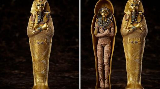 黄金の仮面は着脱可能。ツタンカーメン王がfigmaとなって動きだす!