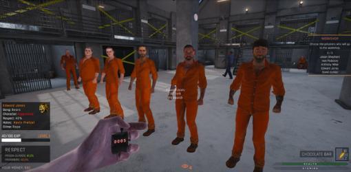 危険な刑務所の秩序を維持する刑務官シム『Prison Simulator』海外11月4日発売